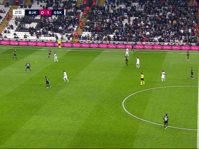 Süper Lig : En deux temps, Besiktas s'offre un festival