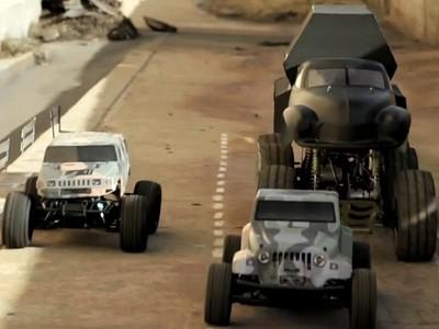 Insolite : la bande annonce de Fast & Furious 6 rejouée avec des voitures RC