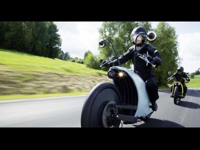 La moto Johammer, une moto électrique atypique !