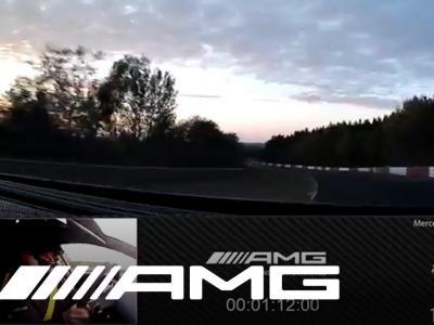 Mercedes-AMG GT 63 S 4MATIC+ : record sur le circuit du Nürburgring en vidéo