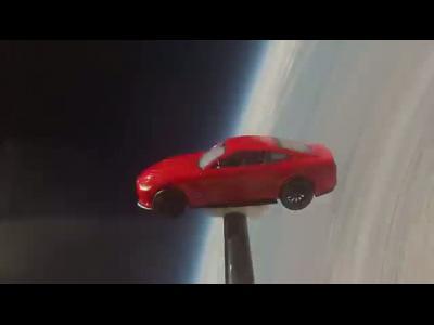 La Ford Mustang atteint l'espace pour ses 50 ans