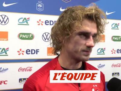 France - Turquie la réaction d'Antoine Griezmann en vidéo !