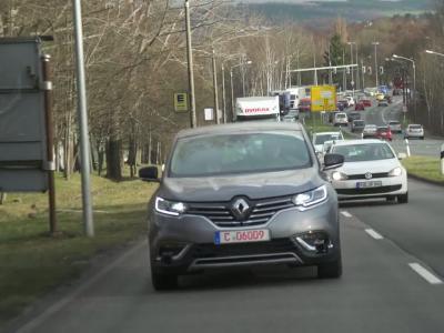 Le Renault Espace devient autonome