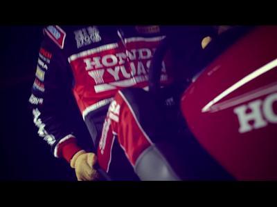 Honda et... la course de tondeuse à gazon !
