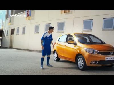Lionel Messi prête son image à Tata Motors pour promouvoir la Tiago