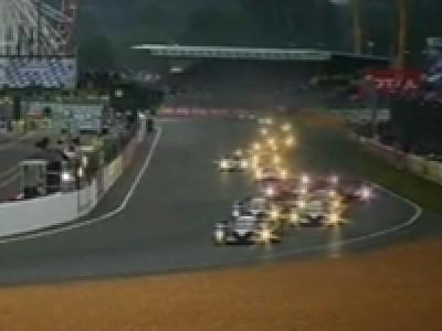 Départ 24H du Mans 2010