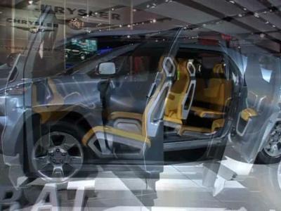 Reportage Toyota A-BAT concept