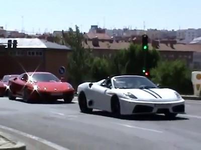 Des contrefaçons de Ferrari 458 Italia interceptées en Espagne