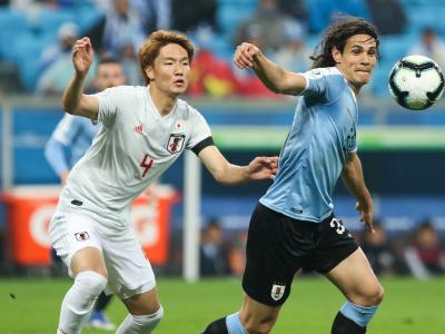 Copa America : L'Uruguay et Cavani freinés par le Japon