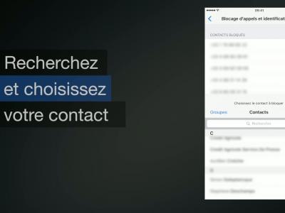 iPhone 7 - iOS 10 : comment bloquer un contact ou un numéro de téléphone - méthode n°1