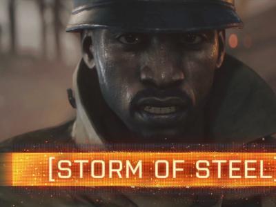 Battlefield 1 : trailer de gameplay Solo Storm of Steel