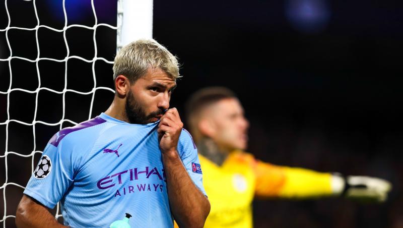 Sergio Aguero : les stats de sa saison 2019 / 2020 avec Manchester City