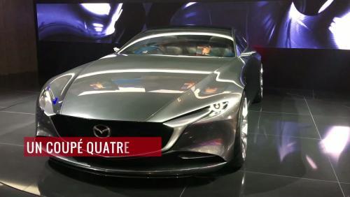 Le concept Mazda Vision Coupé en vidéo depuis le salon de Genève 2018