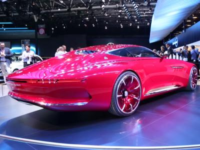 Mondial 2016 : Mercedes-Maybach Vision 6
