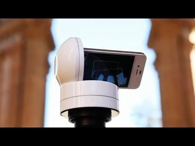 Galileo, un support motorisé pour iPhone