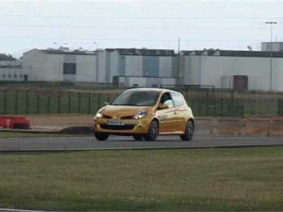 Essai Renault Clio RS F1 Team R27
