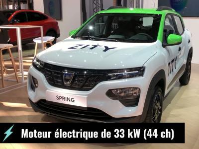 Dacia Spring Electric : la 1ère voiture électrique de Dacia en vidéo