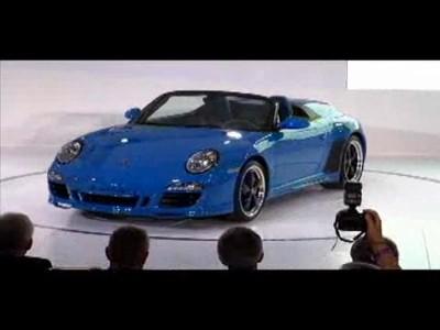 Los Angeles 2010 : Porsche Cayman R