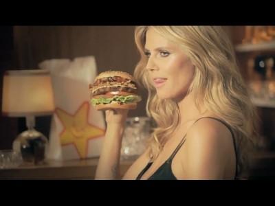 Heidi Klum se la joue gourmande