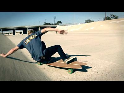 Harmboard, la planche de skate pour surfeur