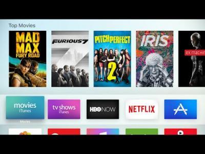 Apple TV 4ème génération