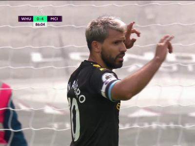 Sergio Agüero sur pénalty !
