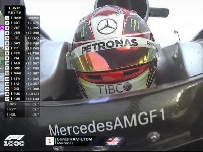 Grand Prix de Chine : le tour final de Lewis Hamilton