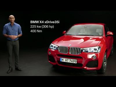 Le BMW X4 xDrive35i nous fait entendre sa jolie voix