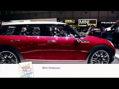 Genève 2014 : Mini Clubman