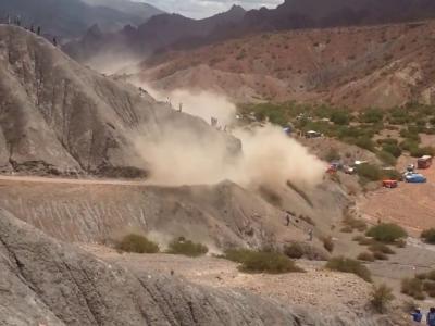 Dakar 2017 : l'impressionnant crash de Carlos Sainz en vidéo