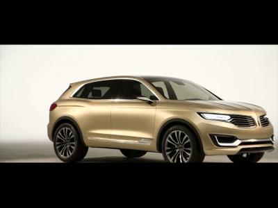 Le concept Lincoln MKX dévoile son exotisme à Pékin