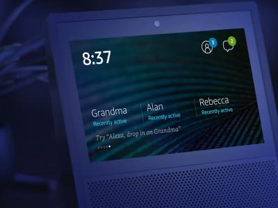 Amazon Echo Show : présentation vidéo de l'assistant de la maison (VO)