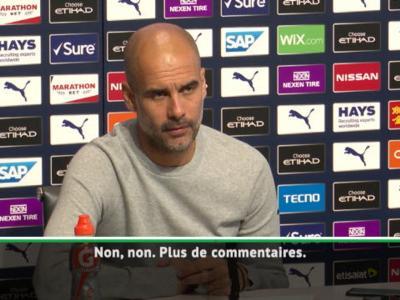 Manchester City : Guardiola ne veut plus parler de l'affaire Bernardo Silva