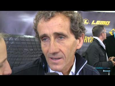 Interview Alain Prost aux 24H du Mans