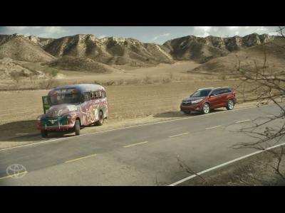 Le Toyota Highlander fait son (Muppet) Show