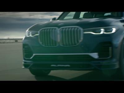 L'Alpina XB7 dérivé du BMW X7 et son V8 4.4 biturbo en vidéo