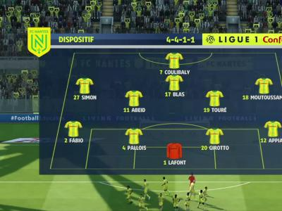 FC Nantes - AS Monaco : buts et résumé de notre simulation FIFA 20