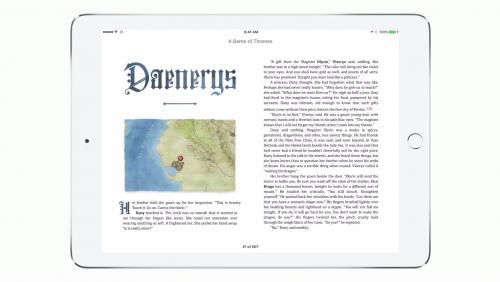 Game of Thrones Enhanced Edition - bande-annonce de l'exclusivité sur l'iBooks Store
