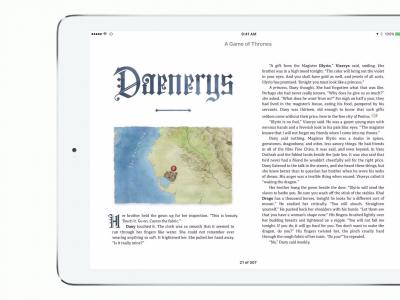 Game of Thrones Enhanced Edition - bande-annonce de l'exclusivité sur l'iBooks Store
