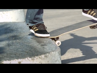 Nouvelle chaussure pour skateur par Adidas