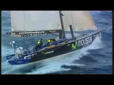 Volvo Ocean Race Sailing