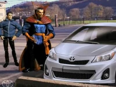 Nouvelle Toyota Yaris, la voiture des Super Héros