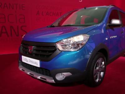 Mondial Auto 2014 : Dacia Lodgy Stepway