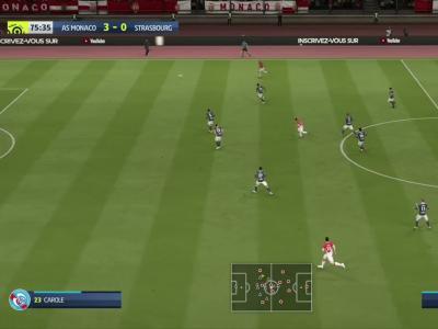 L1 - 5ème journée : notre simulation FIFA 20 de AS Monaco - RC Strasbourg