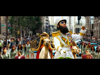 The Dictator en DVD