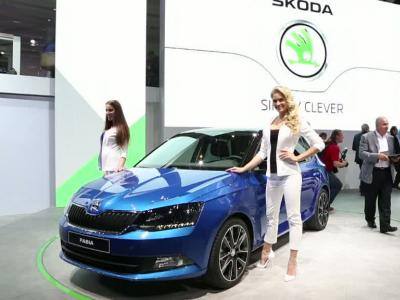 Mondial Auto 2014 : Skoda Fabia Combi