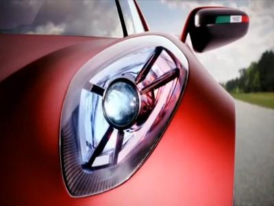 Un trailer de l'Alfa Romeo 4C