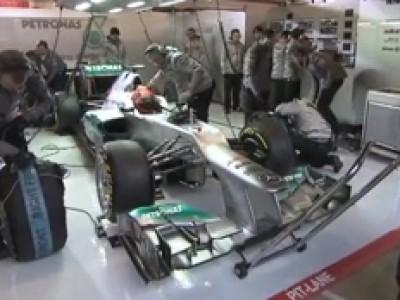 F1 2012 : Mercedes W03