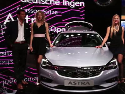 Francfort 2015 : Opel Astra Sports Tourer
