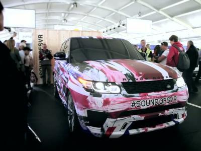 Le Range Rover Sport SVR en parade à Goodwood